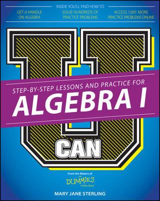 U Can: Algebra I for Dummies (Paperback)