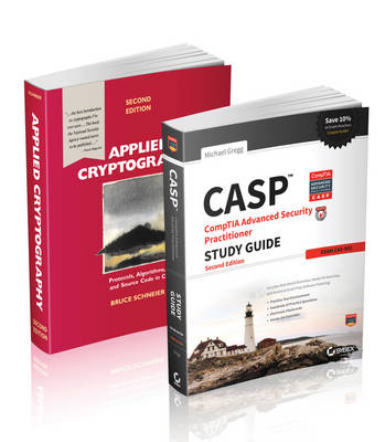 Cover Security Practitioner and Cryptography Handbook and Study Guide Set