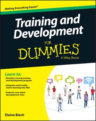 Training & Development For Dummies (Paperback)