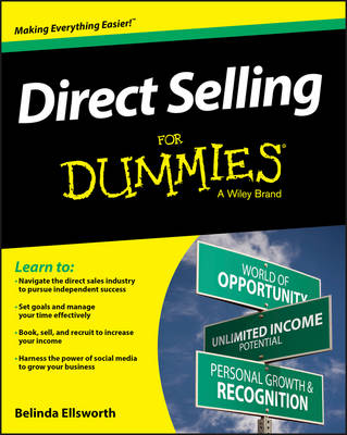 Direct Selling For Dummies (Paperback)