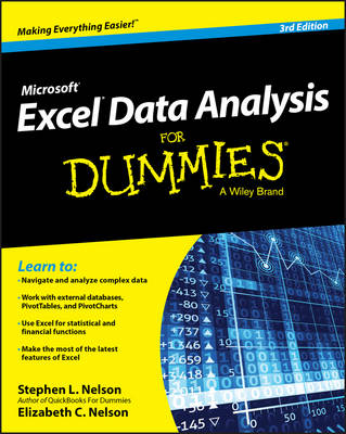 Excel Data Analysis For Dummies (Paperback)