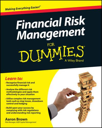 Financial Risk Management For Dummies (Paperback)