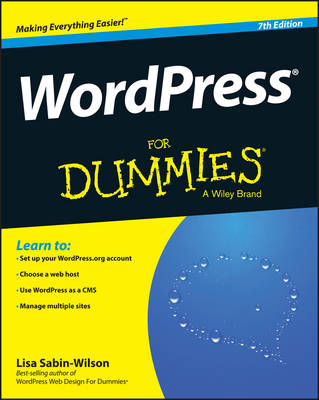 Wordpress for Dummies, 7th Edition (Paperback)