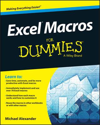 Excel Macros for Dummies (Paperback)