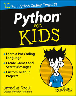 Python For Kids For Dummies (Paperback)