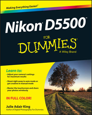 Nikon D5500 For Dummies (Paperback)