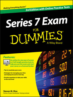 Series 7 Exam For Dummies, with Online Practice Tests (Paperback)