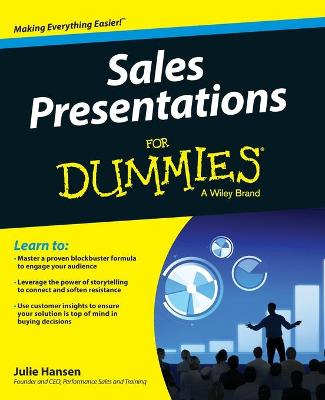 Sales Presentations for Dummies (Paperback)