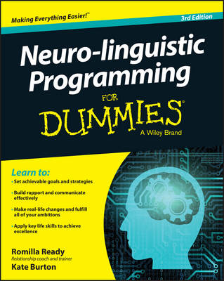 Neuro-linguistic Programming For Dummies (Paperback)