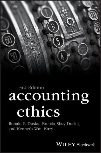 Accounting Ethics - Foundations of Business Ethics (Paperback)