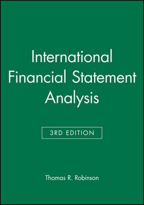 International Financial Statement Analysis: Book and Workbook Set - CFA Institute Investment Series (Hardback)