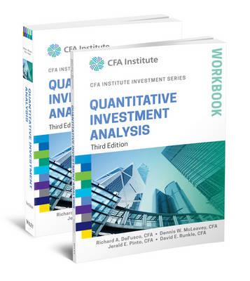 Quantitative Investment Analysis, 3e Book and Workbook Set - CFA Institute Investment Series (Paperback)