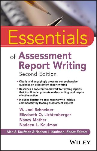 Essentials of Assessment Report Writing - Essentials of Psychological Assessment (Paperback)