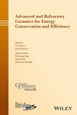 Advanced and Refractory Ceramics for Energy Conservation and Efficiency - Ceramic Transactions Series (Hardback)