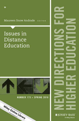 Issues in Distance Education: New Directions for Higher Education, Number 173 - J-B HE Single Issue Higher Education (Paperback)