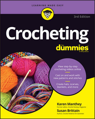 Crocheting For Dummies with Online Videos (Paperback)