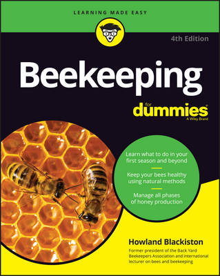 Beekeeping for Dummies, 4th Edition (Paperback)