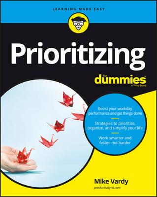 Prioritizing For Dummies (Paperback)