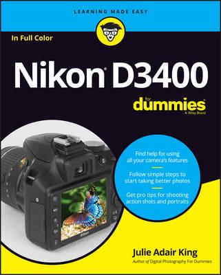 Nikon D3400 For Dummies (Paperback)