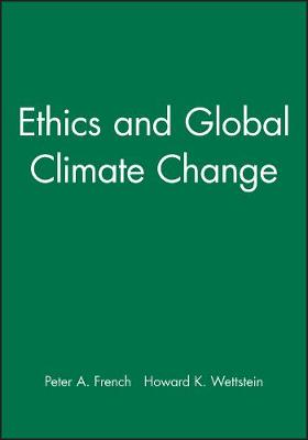 Ethics and Global Climate Change - Midwest Studies in Philosophy (Paperback)