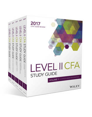 Wiley Study Guide for 2017 Level II Cfa Exam: Complete Set (Paperback)