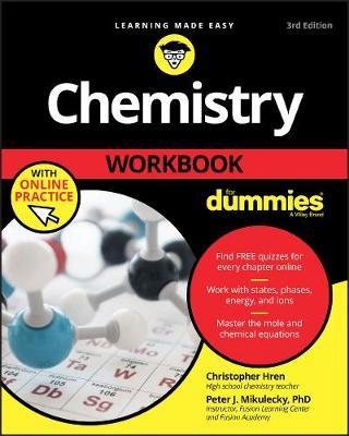 Chemistry Workbook For Dummies (Paperback)