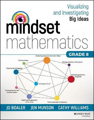 Mindset Mathematics: Visualizing and Investigating Big Ideas, Grade 8 - Mindset Mathematics (Paperback)