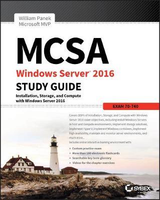MCSA Windows Server 2016 Study Guide: Exam 70-740 (Paperback)