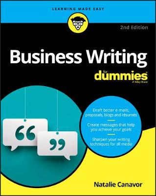 Business Writing For Dummies (Paperback)