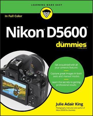 Nikon D5600 For Dummies (Paperback)