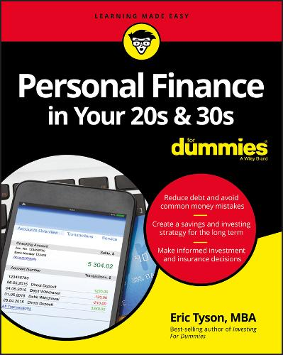 Personal Finance in Your 20s and 30s For Dummies (Paperback)
