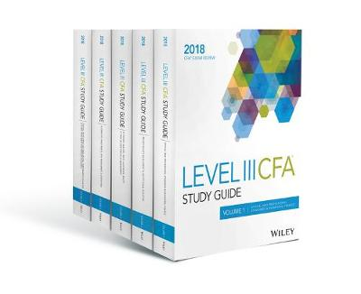 Wiley Study Guide for 2018 Level III CFA Exam: Complete Set (Paperback)