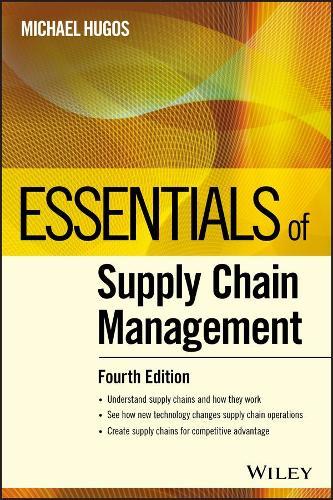 Essentials of Supply Chain Management - Essentials Series (Paperback)
