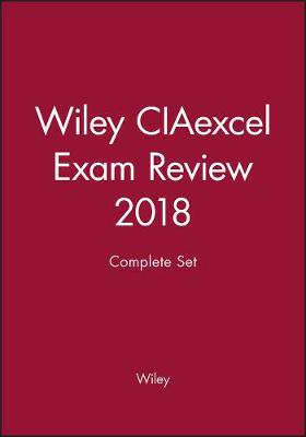 Wiley CIAexcel Exam Review 2018: Complete Set (Paperback)
