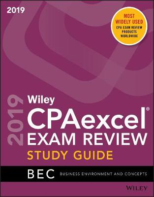 Wiley CPAexcel Exam Review 2019 Study Guide: Business Environment and Concepts (Paperback)