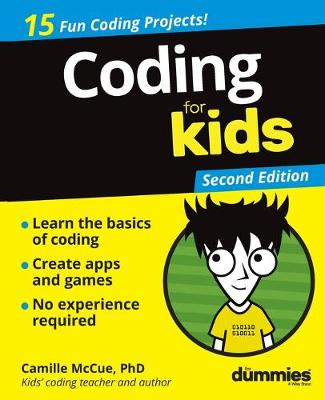Coding For Kids For Dummies - For Kids For Dummies (Paperback)