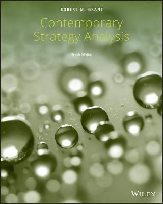 Contemporary Strategy Analysis (Paperback)