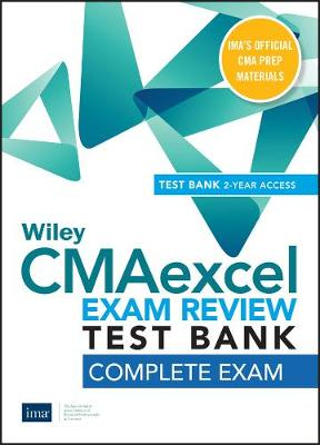 Wiley CMAexcel Learning System Exam Review 2020 Test Bank: Complete Exam (2-year access) (Paperback)