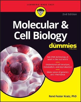 Molecular & Cell Biology For Dummies (Paperback)