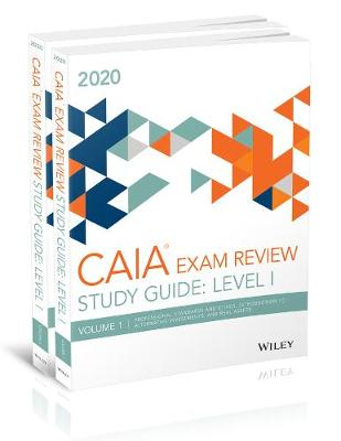 Wiley Study Guide for March 2020 Level l CAIA Exam: Complete Set (Print) (Paperback)