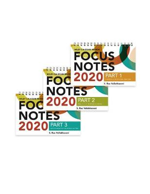 Wiley CIA Exam Review Focus Notes 2020: Complete Set (Paperback)