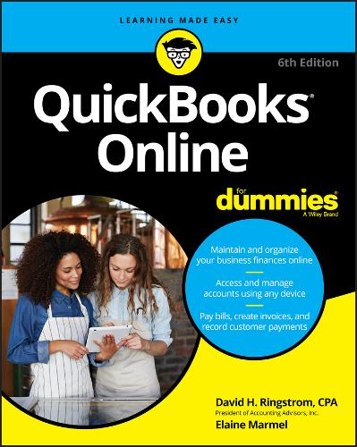 QuickBooks Online For Dummies (Paperback)