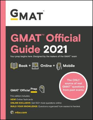 GMAT Official Guide 2021: Book + Online (Paperback)