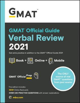 GMAT Official Guide Verbal Review 2021: Book + Online (Paperback)