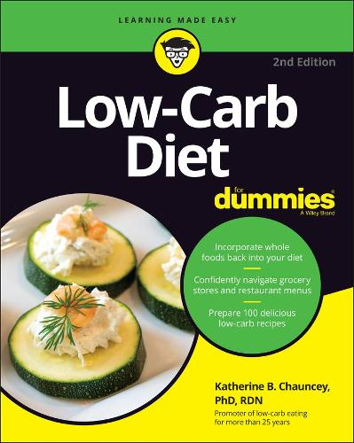 Low-Carb Diet For Dummies (Paperback)