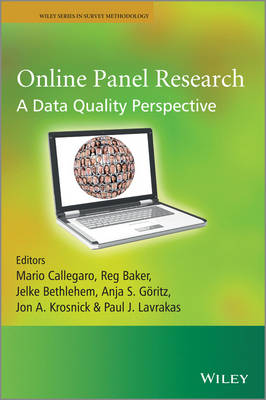 Online Panel Research: A Data Quality Perspective - Wiley Series in Survey Methodology (Paperback)