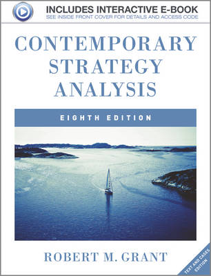 Contemporary Strategy Analysis 8th Edition, Text and Cases (Paperback)