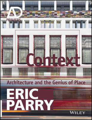 Cover Context: Architecture and the Genius of Place - Architectural Design Primer