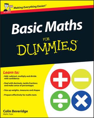 Basic Maths For Dummies (Paperback)