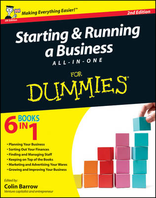 Starting and Running a Business All-In-One for Dummies 2E (Paperback)